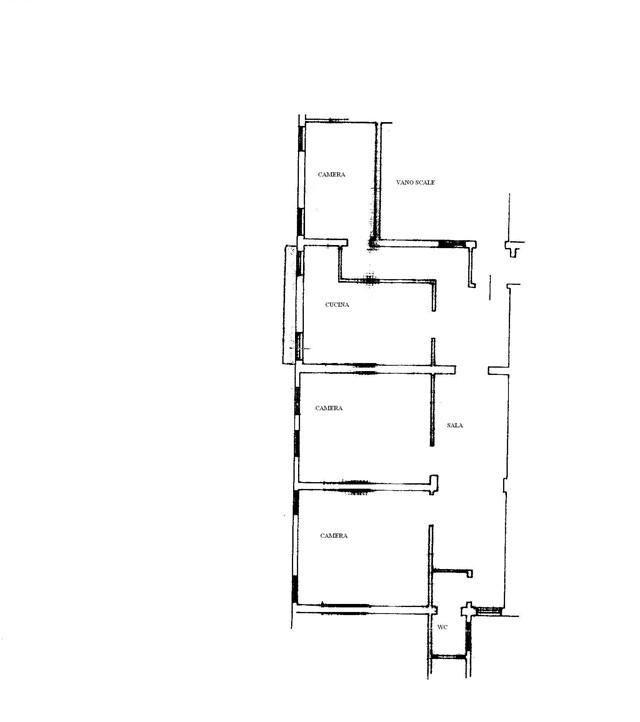 Appartamento in vendita a venezia cannaregio 2 piani for Piani di lusso a pianta aperta